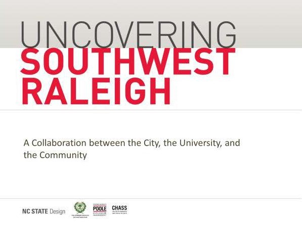 Uncovering SouthWestRaleigh Presentation