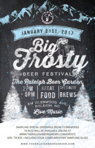The Big Frosty Beer Festival @ Raleigh Beer Garden | Raleigh | North Carolina | United States