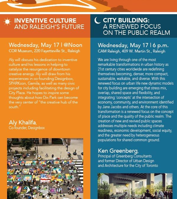 UDC Talks: 2017 Bold Ideas for Dix Park @Noon and @Night