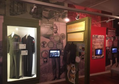 """""""Our War: Voices of Raleigh's WWII Veterans"""" Exhibit"""