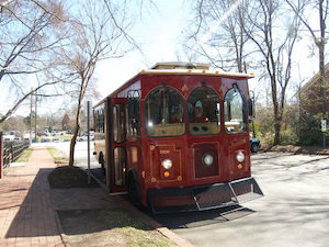 Haunted Trolley Tour @ The trolley departs from Mordecai Historic Park | Raleigh | North Carolina | United States