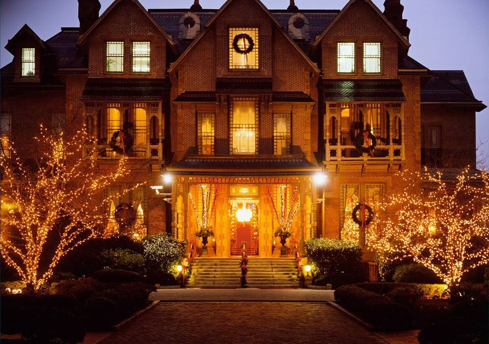 Holiday Open House at the N.C. Executive Mansion