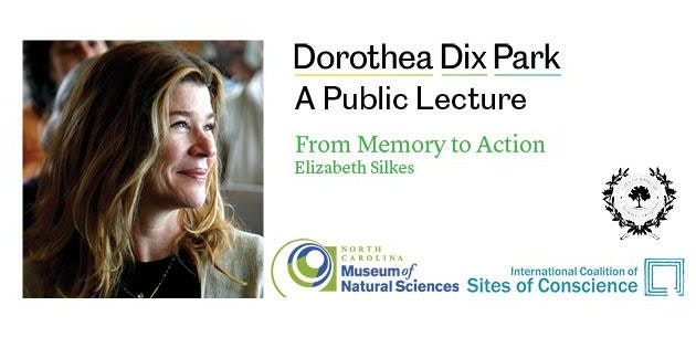Dix Park Public Lecture | From Memory to Action: Elizabeth Silkes