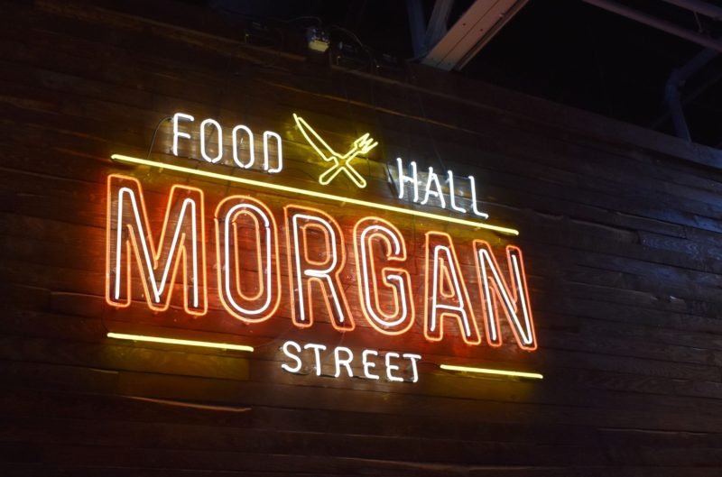 Morgan Street Neon Sign