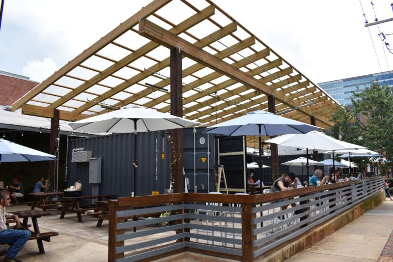 Morgan street outside