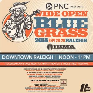 Wide Open Bluegrass @ Downtown Raleigh | Raleigh | North Carolina | United States