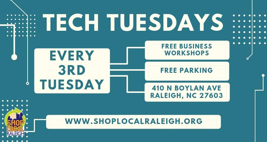 Tech Tuesdays are a Small Business Owner's Best Friend